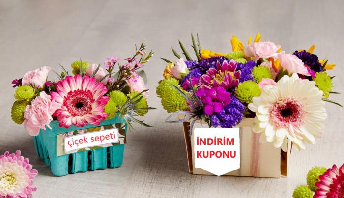 çiçek sepeti indirim kodu ve kampanyalar